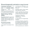 Vitaking Máriatövis Milk Thistle 500mg (65.61g) kapszula 90db