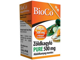 Zöldkagyló Pure 500 mg kapszula 90 db (BioCo)