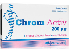 Chromium Active 200 mcg tabletta 60 db (Natur Tanya)