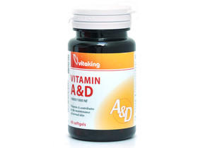 A&D vitamin 10000/1000NE 60db (Vitaking)