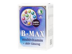 Dr. Chen B-Max multivitamin tabletta + aktív Ginseng 40 db