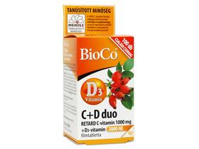 BioCo C + D duo Retard C-vitamin 1000mg D3-vitamin 2000 NE