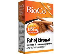 BioCo Fahéj kivonat tabletta 60db 1500mg