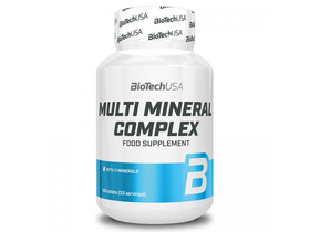 BioTech USA Multi Mineral Complex 100 db tabletta