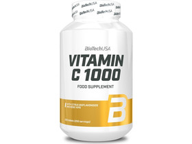 BioTech USA Vitamin C 1000 mg Bioflavonoidok tabletta 250 db