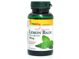 Citromfű Lemon Balm 500 mg 60db (Vitaking)