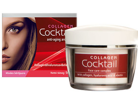 Collagen Cocktail. anti-aging arcápoló komplex krém 50 ml