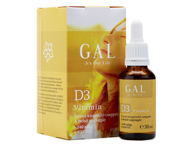 GAL D3 vitamin 30ml 4000NE