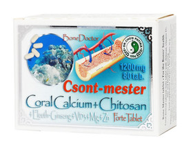 Dr. Chen Csont-Mester Coral Calcium + Chitosan Forte tabletta 80db 1200mg