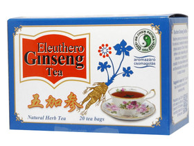 Eleuthero Ginseng zöld teafilter 20 db (Dr.Chen)