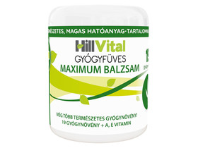 Hillvital Gyógyfüves Mesterbalzsam Maximum 250 ml