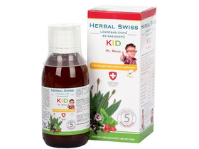 Herbal Swiss Kid folyékony szirup 150ml