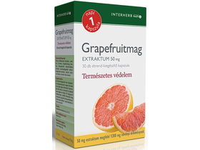 Interherb NAPI1 Grapefruitmag Extraktum 50mg 30db