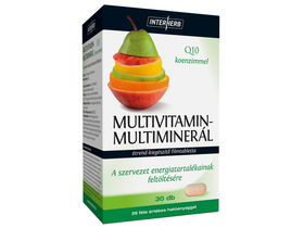 Interherb VITAL Multivitamin-Multiminerál 30db