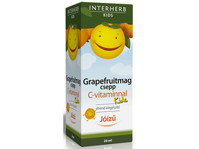 INTERHERB VITAL Grapefruitmag csepp KIDS C-vitaminnal 20ml