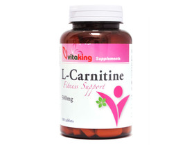 L-Carnitine tabletta 100db 500mg (Vitaking)