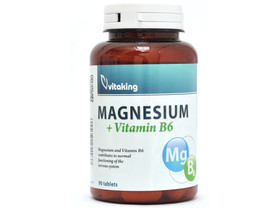 Magnesium 150 mg + B6-vitamin 6 mg tabletta 90 db (Vitaking)