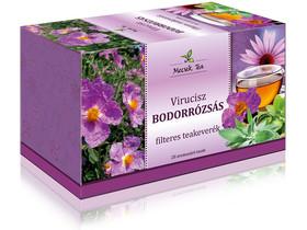 Mecsek Virucisz Bodorrózsás filteres teakeverék 20db