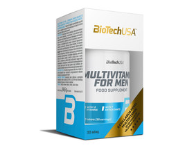 BioTech USA Multivitamin for Men 60db tabletta