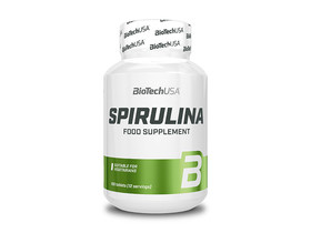 BioTech USA Spirulina tabletta 100 db