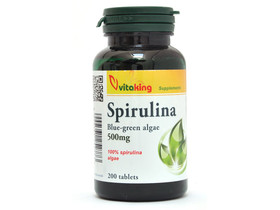 Spirulina 500 mg 200 db (Vitaking)