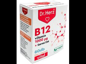 Dr.Herz B12-vitamin 1000 mcg + Szerves Cink kapszula 60db