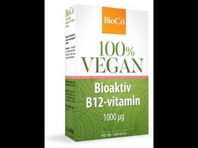 BioCo 100% VEGAN Bioaktív B12-vitamin 1000mcg 90db