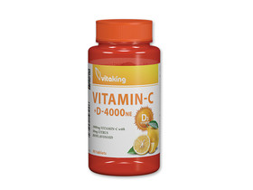 Vitaking C-1000 + D-4000 vitamin tabletta 90db