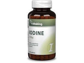 Vitaking Jód (IODINE) tabletta 240db