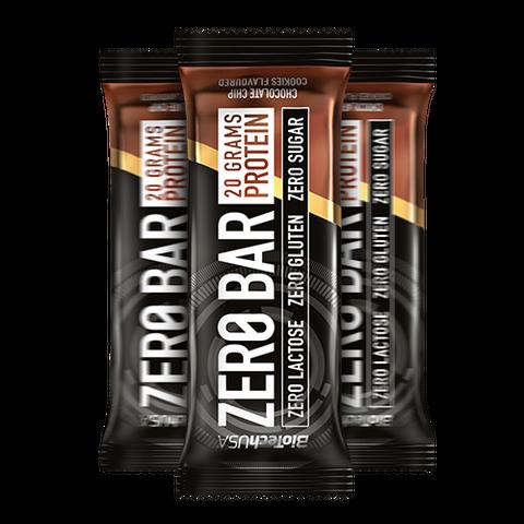 Zero Bar csokis keksz ízesítésű 50 g (BioTech USA)