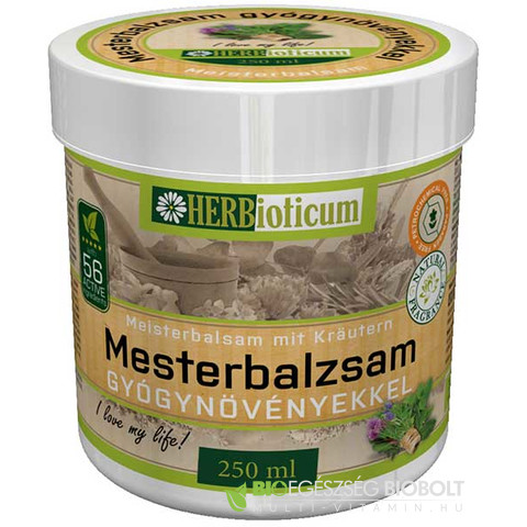 HERBioticum Mesterbalzsam 250ml
