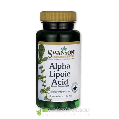 SW Alpha Lipoic-acid 120db