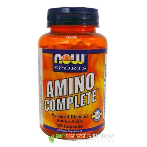 Amino Complete 120 db (NOW)
