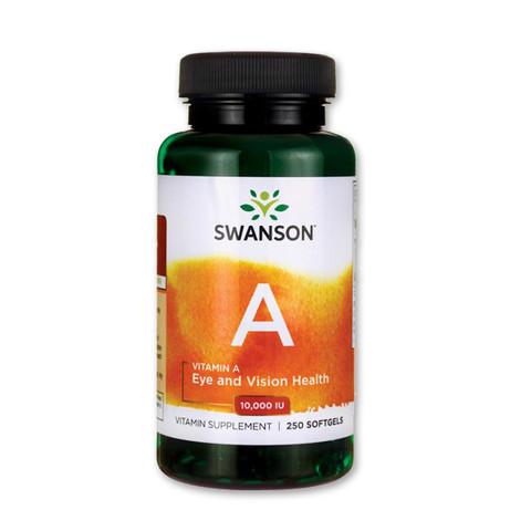 A-vitamin 10000 IU 250 db (Swanson)