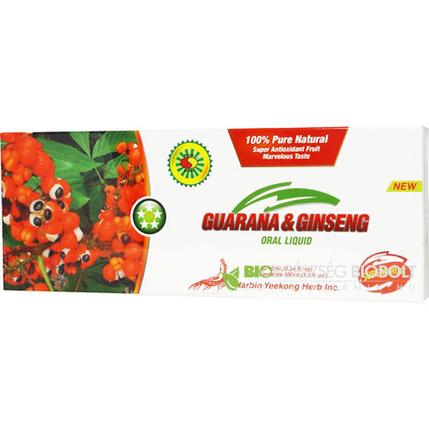 Big Star Guarana-Ginseng kivonat ampulla 10x10ml