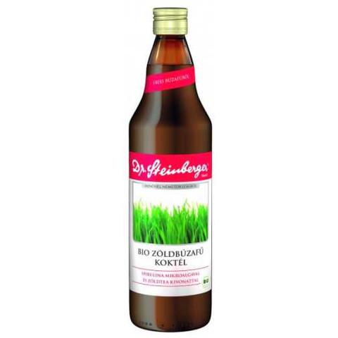 Bio Zöldbúzafű-koktél 750 ml (Dr. Steinberger)