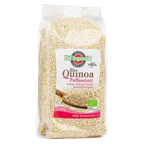 Bio Quinoa puffasztott 100g (Biorganik)
