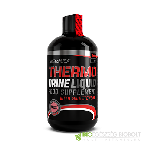 BioTech USA Thermo Drine Liquid 500 ml Grapefruit