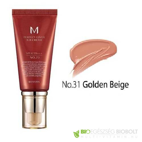 BB Missha M Perfect Cover BB Cream No.31 50ml