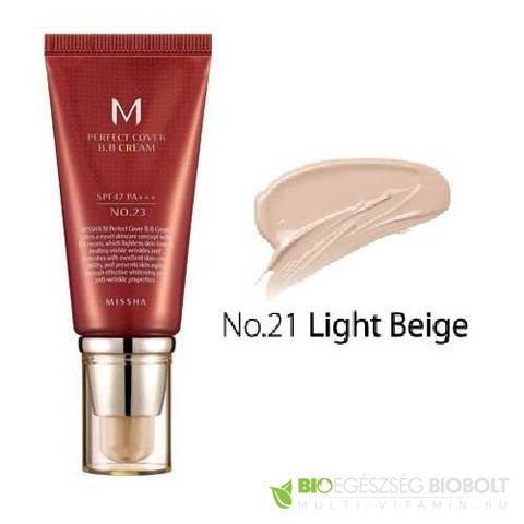 BB Missha M Perfect Cover BB Cream No.21 50ml