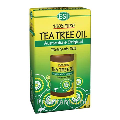 ESI ausztrál teafaolaj 25ml 100%