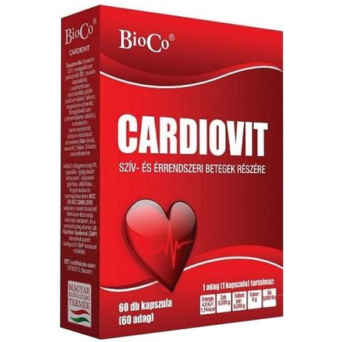 Cardiovit 100mg Q10 60 db kapszula (BioCo)