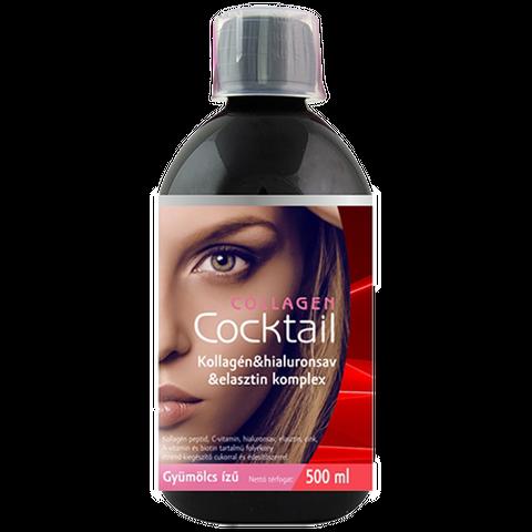 Collagen Cocktail gyümölcs ízű 500 ml