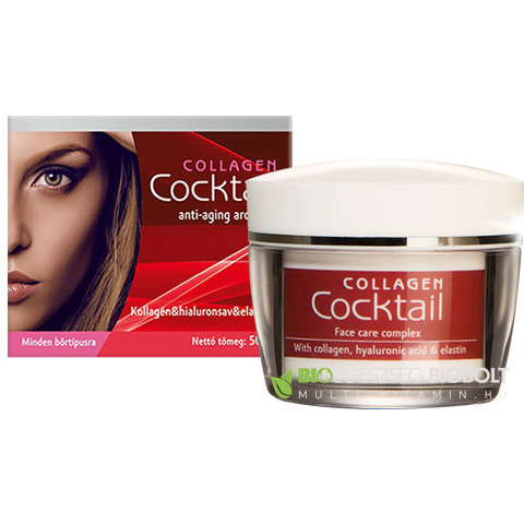 Collagen Cocktail. anti-aging arcápoló komplex krém 50 ml