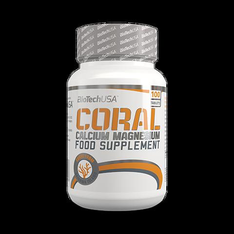 Coral Calcium Magnesium tabletta 100 db BioTech USA