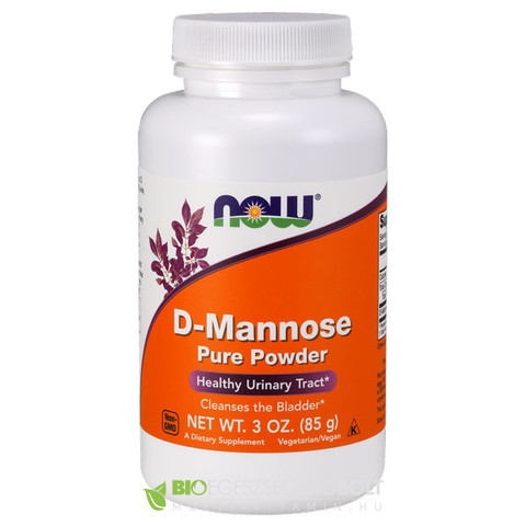 D-Mannose por 85g (NOW)