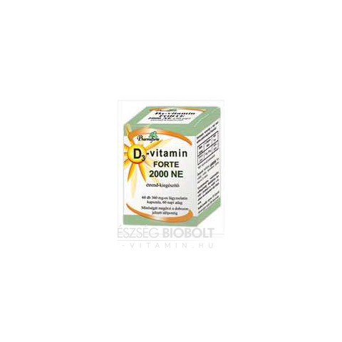 D3 vitamin 2000NE 60db Pharmaforte