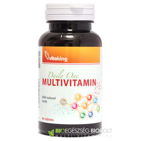 Daily One Multivitamin tabletta 90 db