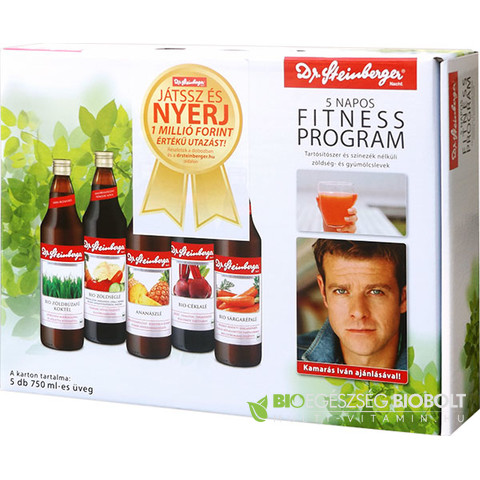 Dr.Steinberg 5 napos fitness program