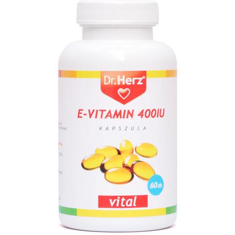 E-vitamin 400IU lágyzselatin kapszula 60db